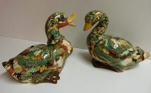 Canards faience apt